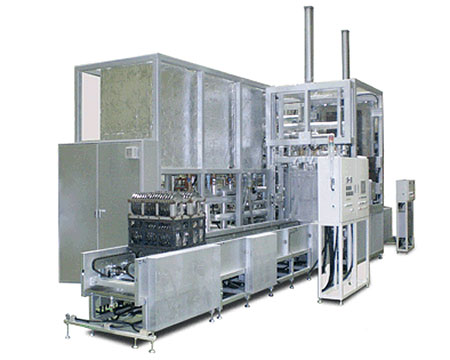 炭化水素系熱処理用大型ワンバス式真空洗浄機 BIOVA