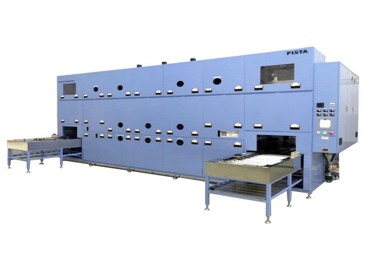 フッ素系多槽式洗浄機 FISTA